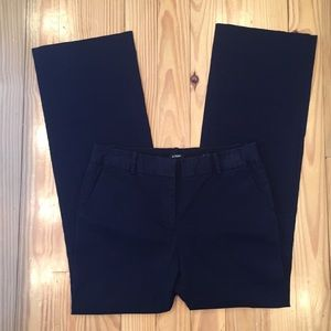 J.Crew Navy Cafe Trousers